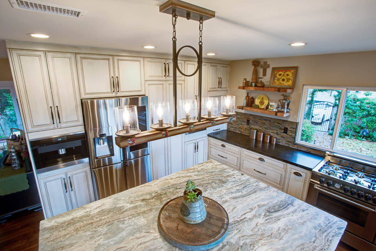 2 U2013 Craftsman Rustic Masterpiece Kitchen In Monrovia